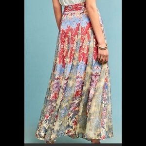 NWT - Hemant & Nandita Louvre Maxi Skirt - Sz L